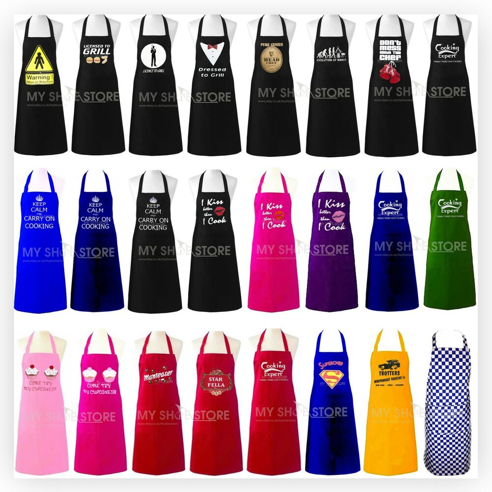 White pinafore apron ebay - Adult Novelty Aprons Bbq Party Funny Present Gift Chefs Kitchen Cooking Craft