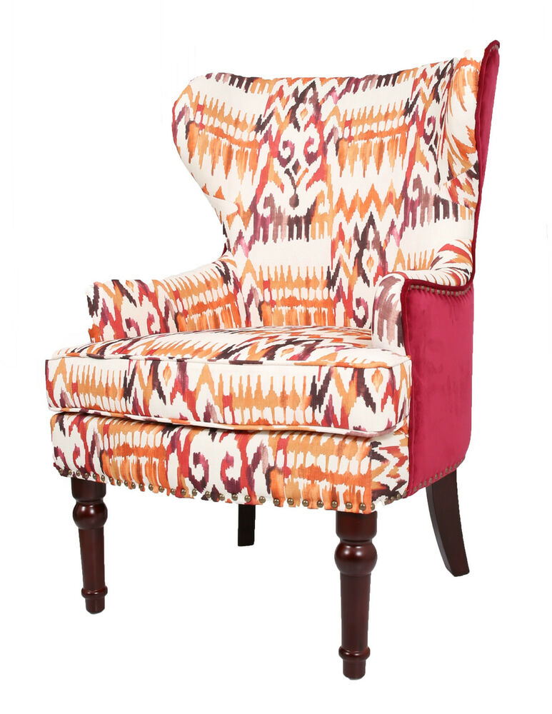 Orthopaedic High Back Chair Winged Armchair Fireside Queen
