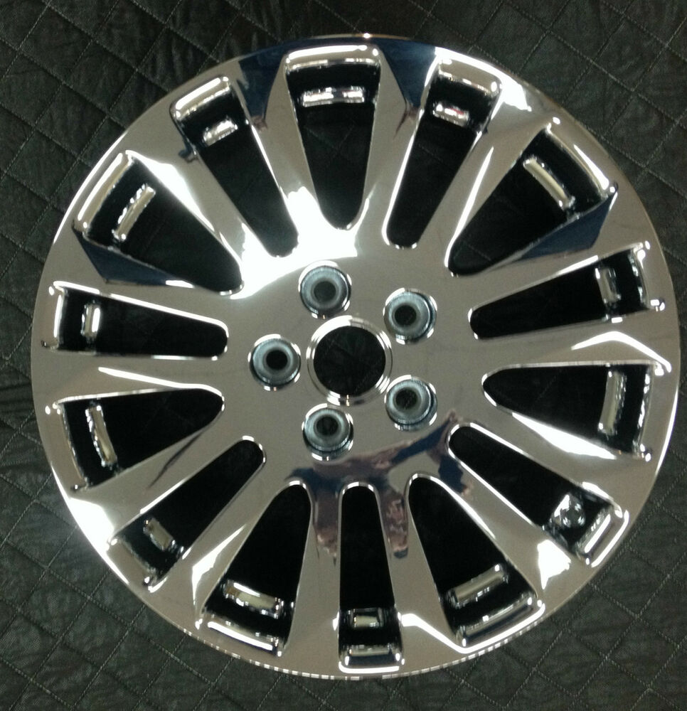 "2014 Cadillac Cts For Sale >> SET OF 4 FACTORY PVD 18"" CHROME CTS COUPE WHEELS EXCHANGE SALE ONLY 