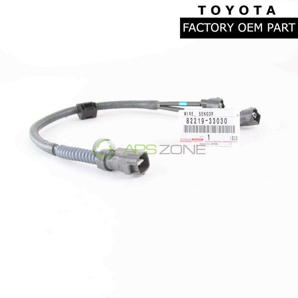 Genuine toyota lexus knock sensor wire harness oem