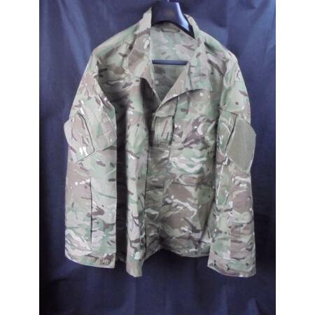 img-British Military Army MTP Camouflage Combat Temperate Weather Jacket/Shirt