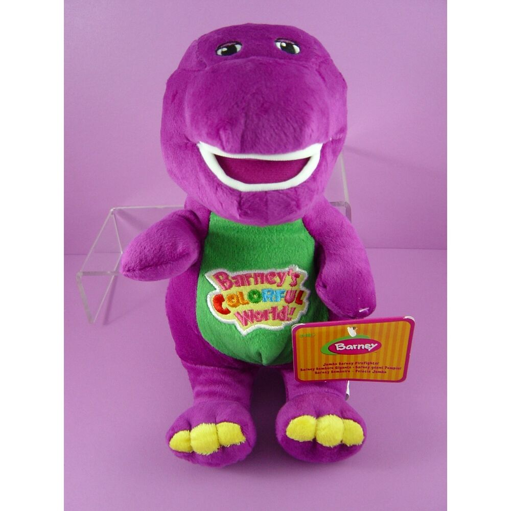 Toys And Love : Newest barney the dinosaur quot purple plush soft toy doll