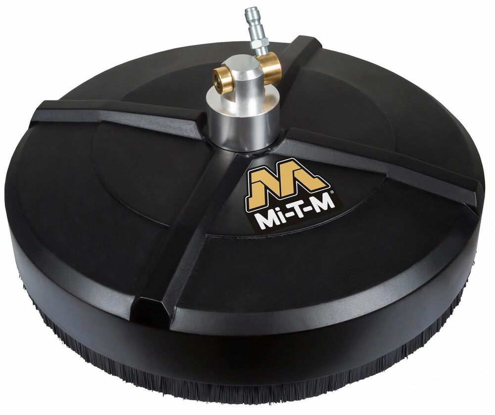 Mi t m 14 pressure washer rotary surface cleaner aw 7020 for Power washer concrete cleaner