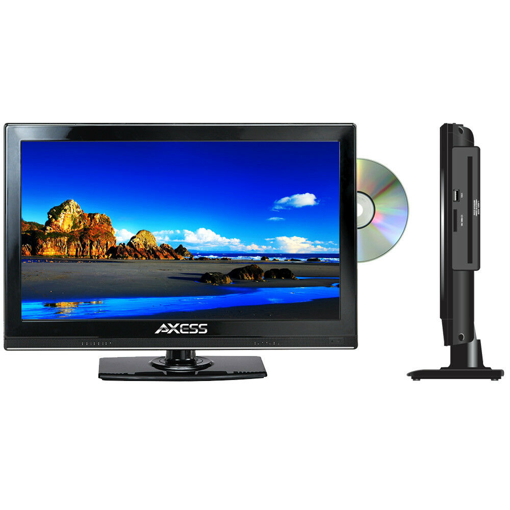 axess tvd1801 15 115 6 led ac dc tv w dvd player full hd w hdmi sd card new ebay. Black Bedroom Furniture Sets. Home Design Ideas