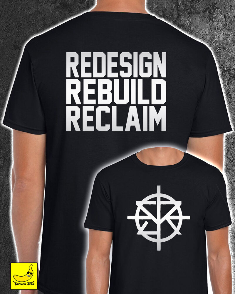 Seth Rollins Redesign Rebuild Reclaim T Shirt Wwe Don Sell