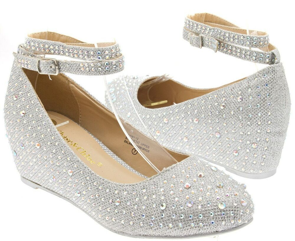 Wedding Heels With Rhinestones
