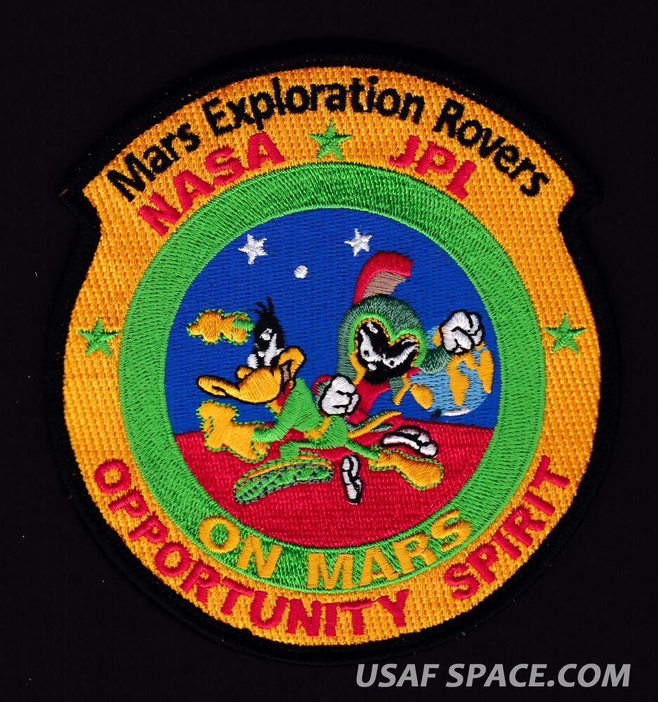 MARS Exploration ROVERS -Marvin Martian-Duck Dodgers ...