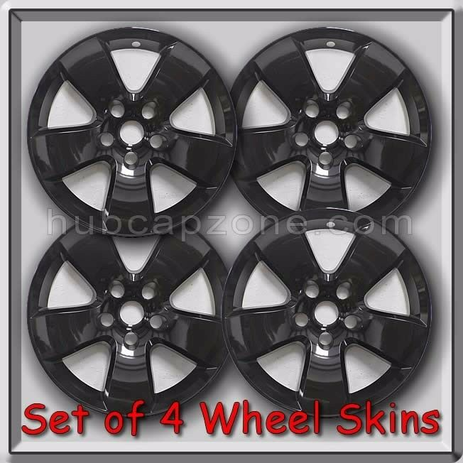 4 Gloss Black Wheel Skins Hubcaps 2009 2012 20 Quot Dodge Ram