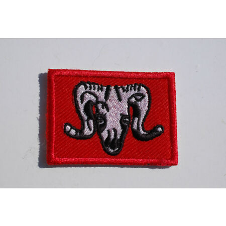 img-British Army - 1st Artillery Brigade Sew On Patch - No524