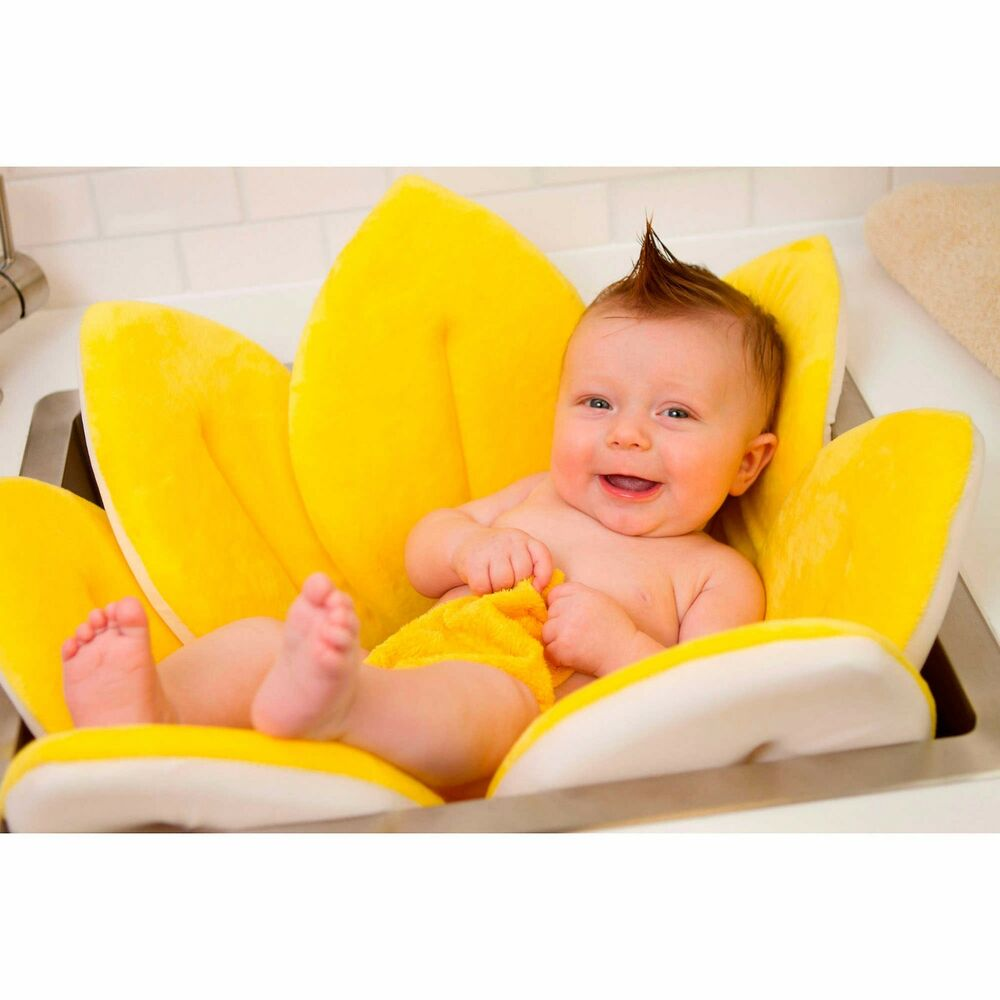 blooming bath soft newborn sink flower wash tub folding bending petals play mat ebay. Black Bedroom Furniture Sets. Home Design Ideas