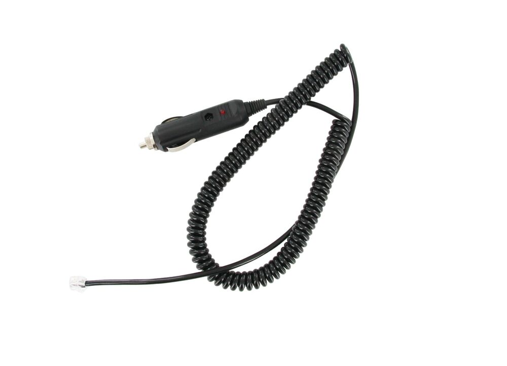 Coiled Power Cord For Bel Beltronics Radar Detectors EBay