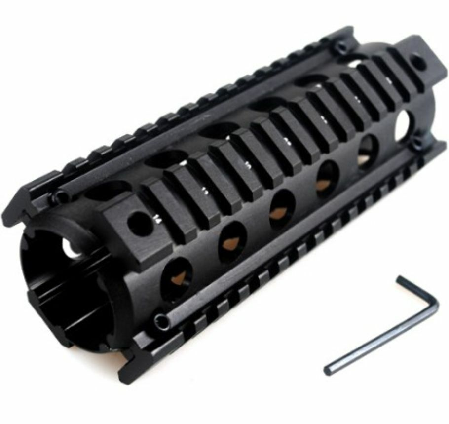 "CARBINE LENGTH 6.75"" DROP IN QUAD HANDGUARD MOUNT"