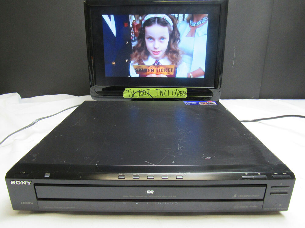 sony dvp nc800h hdmi dvd cd multi player 1080p high. Black Bedroom Furniture Sets. Home Design Ideas