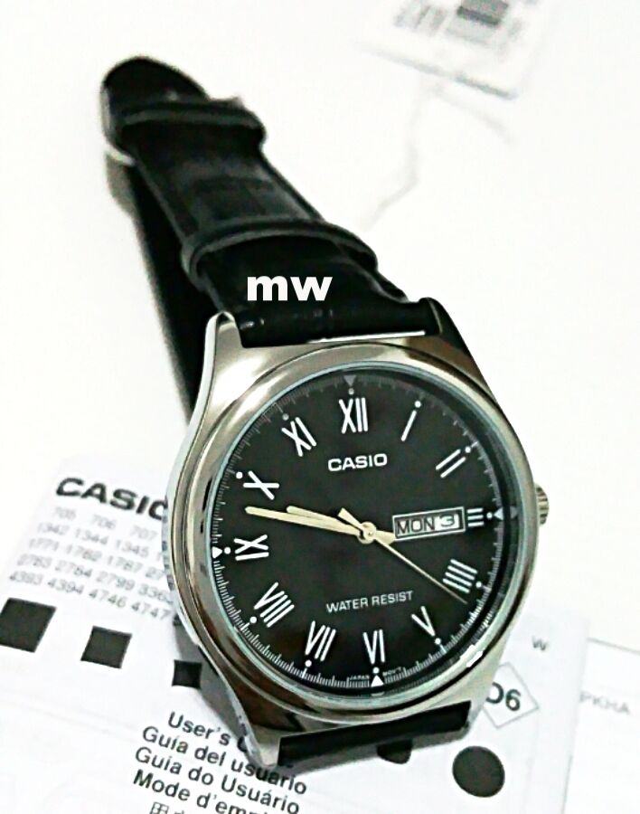 Casio Quartz Water Resist Mens Watch MTP