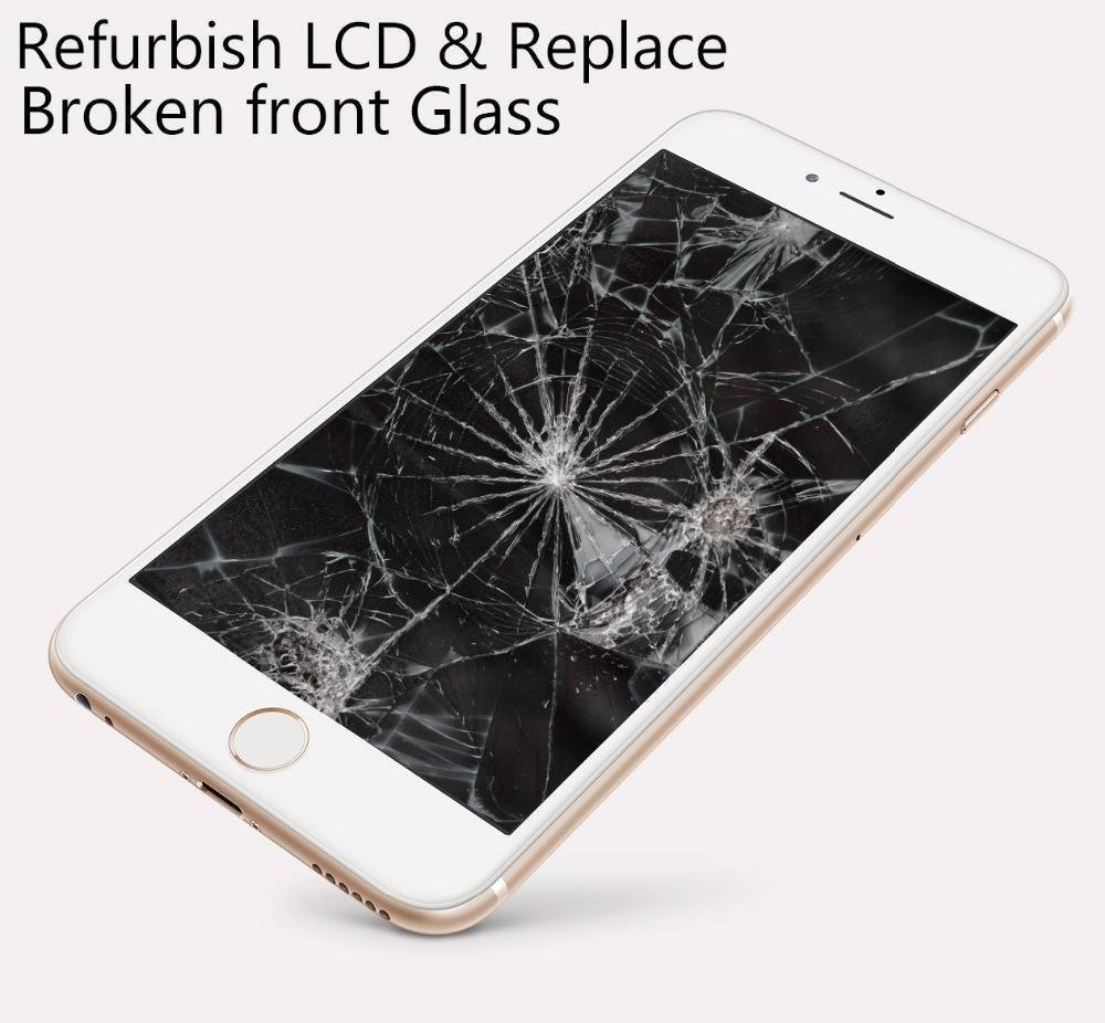 how to fix a broken lcd screen iphone 6