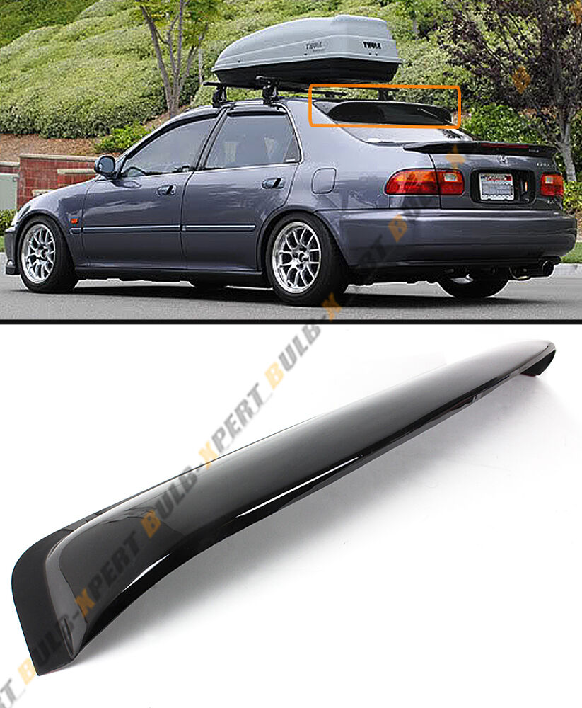 1992 1995 5th gen honda civic 4dr sedan eg eh jdm rear for 2000 honda civic rear window visor