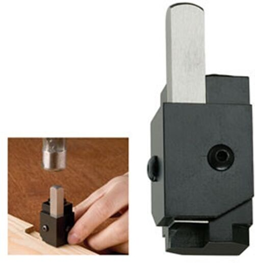 Spring Loaded Corner Wood Cutting Mortise Chisel Tool