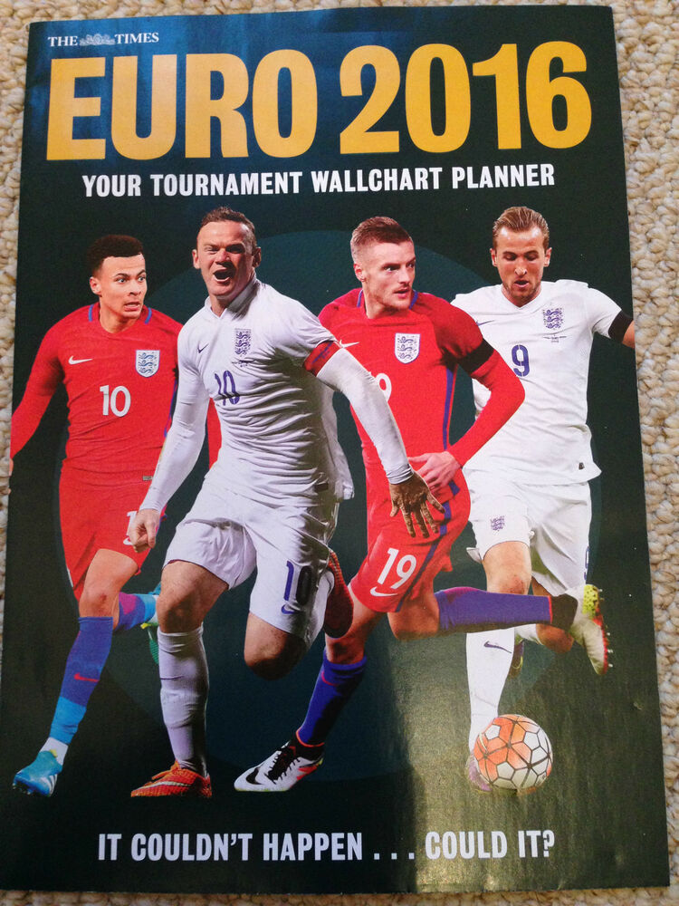 The Times EURO 2016 Double Sided wall chart Planner BRAND NEW | eBay