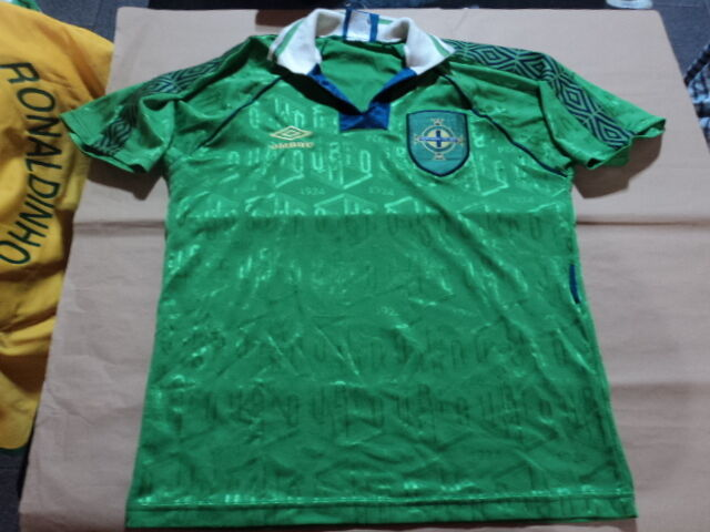 old soccer Jersey Northern Ireland 1994 umbro | eBay