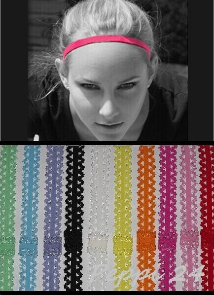 Details about UK Women Man Headband Hair Rope Elastic Yoga Sports Gym  Stretch Band Accessories e74ce428d2