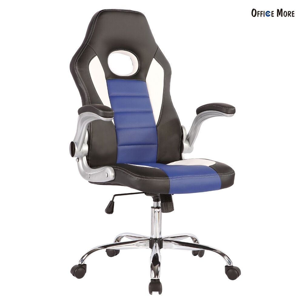 pu leather high back executive swivel office chair. Black Bedroom Furniture Sets. Home Design Ideas