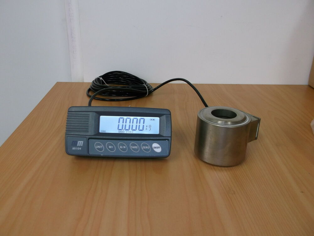 Load Indicator Rated Capacity Indicator : Mt compression load cell capacity t with mi