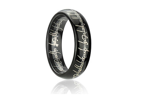 Lord of The Rings Ring Engraved