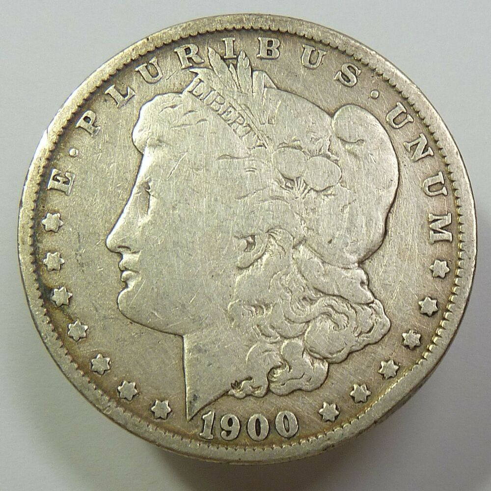 1900 O Silver Morgan Dollar Coin 1 Us Item 6265 Ebay