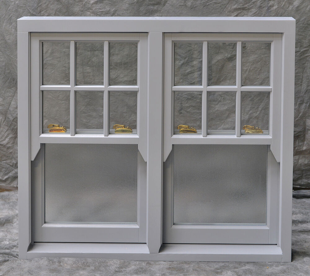 how to make a timber sash window