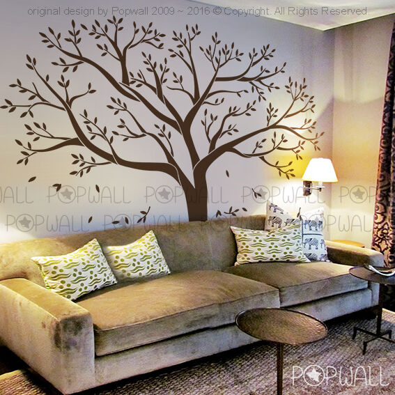 Giant Family Tree Wall Sticker Vinyl Art Home Decals Room Decor Mural Branch NEW  eBay