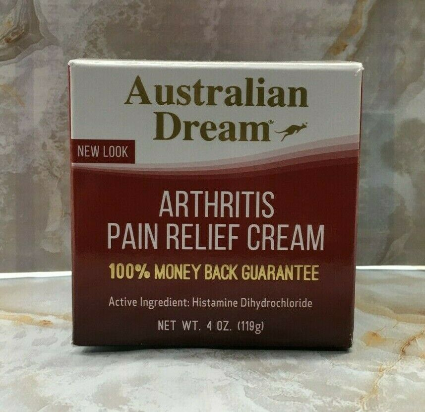 Australian Dream ® Arthritis Pain Relief Cream Muscle aches and joint pain relief. Arthritis sufferers and long-time athletes alike rely on our joint pain relief cream for guaranteed comfort.