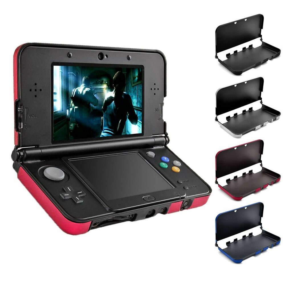 protective hard shell case cover skin pouch for new nintendo 3ds 3ds xl console ebay. Black Bedroom Furniture Sets. Home Design Ideas