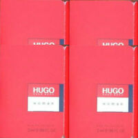 HUGO BOSS HUGO WOMAN 4 x 2ml EAU DE TOILETTE SAMPLE VIALS NEW