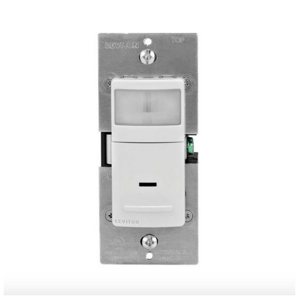 Leviton Occupancy Motion Sensor Detector Detection
