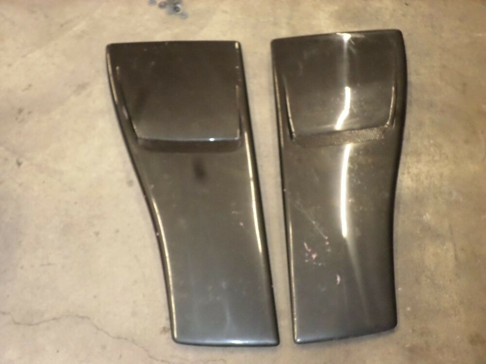 85 92 Camaro Hood Blisters Louvers Vents 91 Tpi Z28 Iroc Z