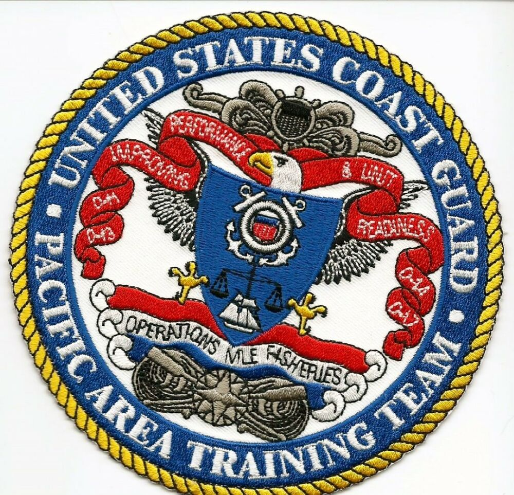 "USCG United States Coast Guard Patch ""Pacific area ..."