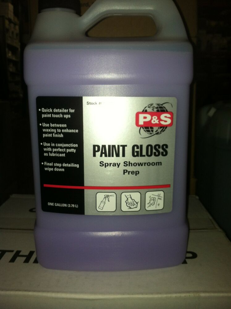p s paint gloss spray instant auto detailer our best. Black Bedroom Furniture Sets. Home Design Ideas