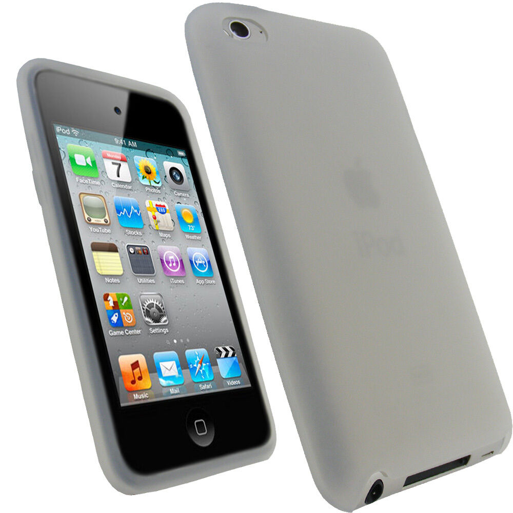 clear silicone skin case for apple ipod touch 4th gen 4g. Black Bedroom Furniture Sets. Home Design Ideas