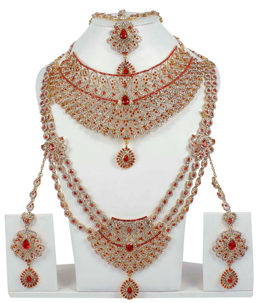 6114 Indian Bollywood Style Fashion Gold Plated Bridal