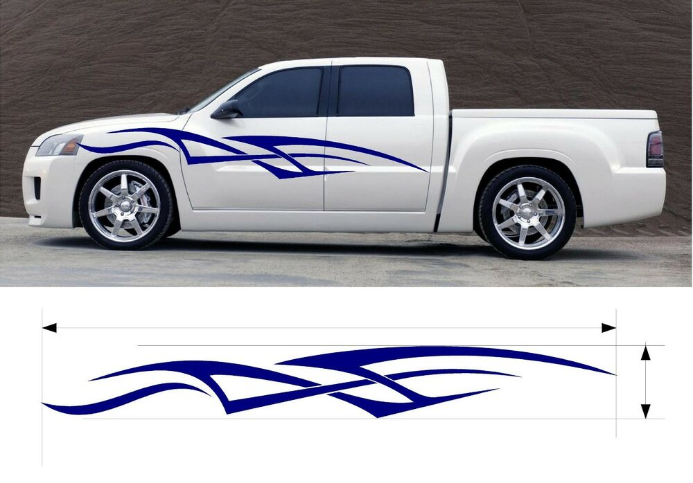 Vinyl Graphic Decal Car Truck Boat Kits Custom Size Color