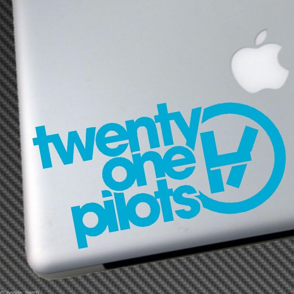 Twenty One Pilots Vinyl Sticker Car Decal Laptop Shirt Cd