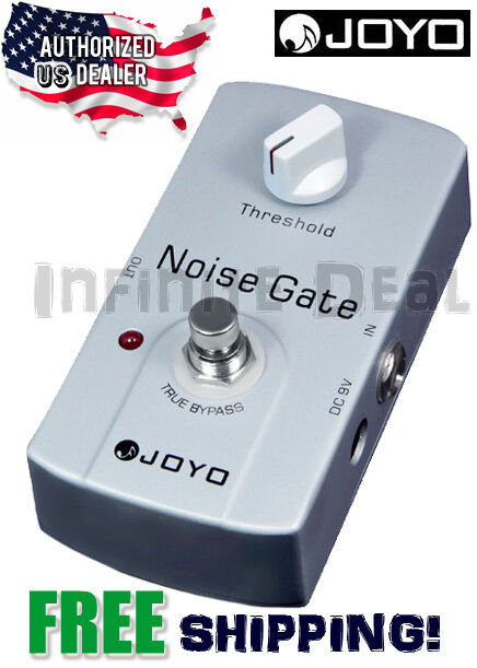 new joyo jf 31 noise gate noise reduction signal remover guitar effects pedal 6943206702313 ebay. Black Bedroom Furniture Sets. Home Design Ideas