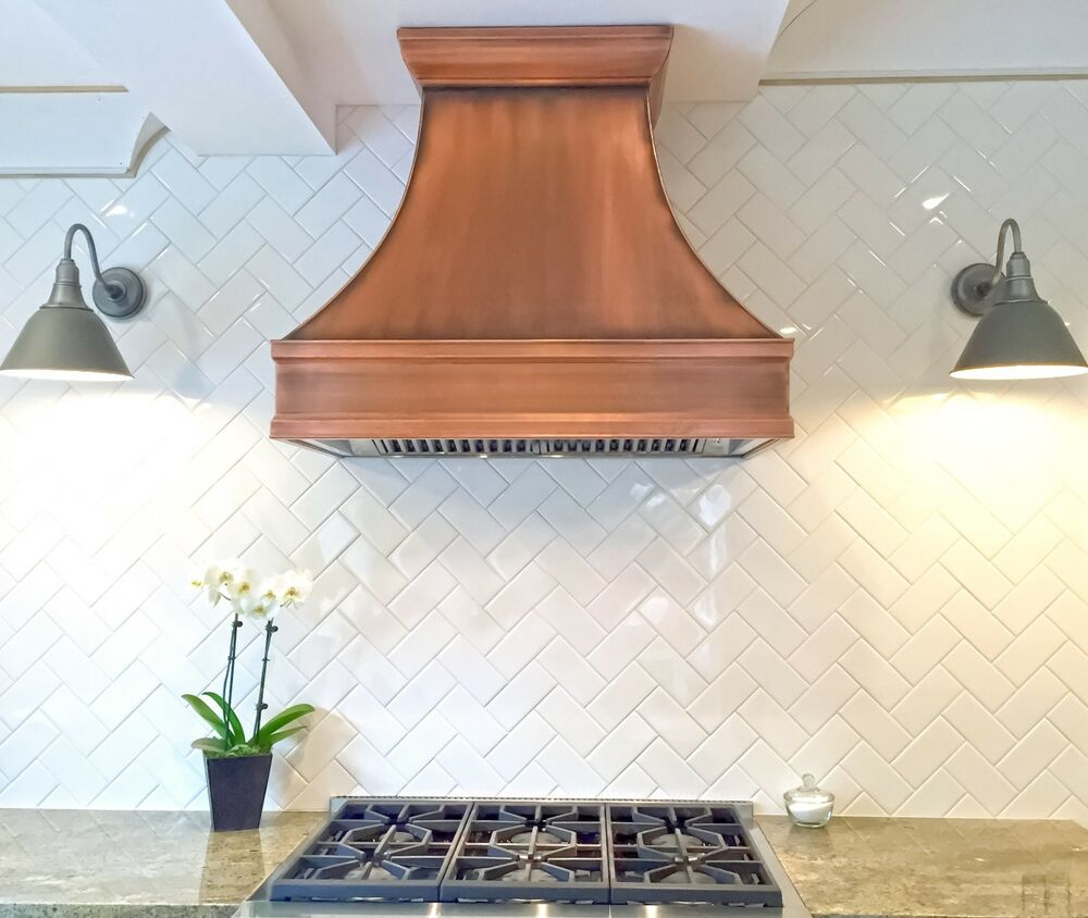 36 Quot Berenice Copper Range Hood Made In U S A Ebay