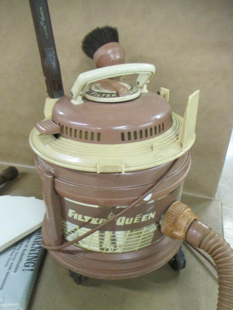 Filter Queen Canister Vacuum With Attachments Ebay
