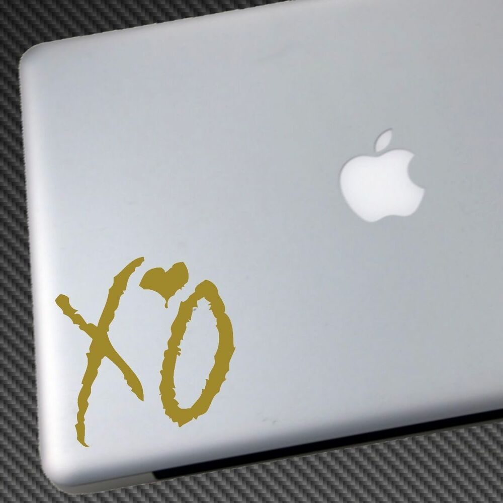 Details about the weeknd vinyl sticker car decal cd shirt hat drake laptop abel tesfaye xo ep