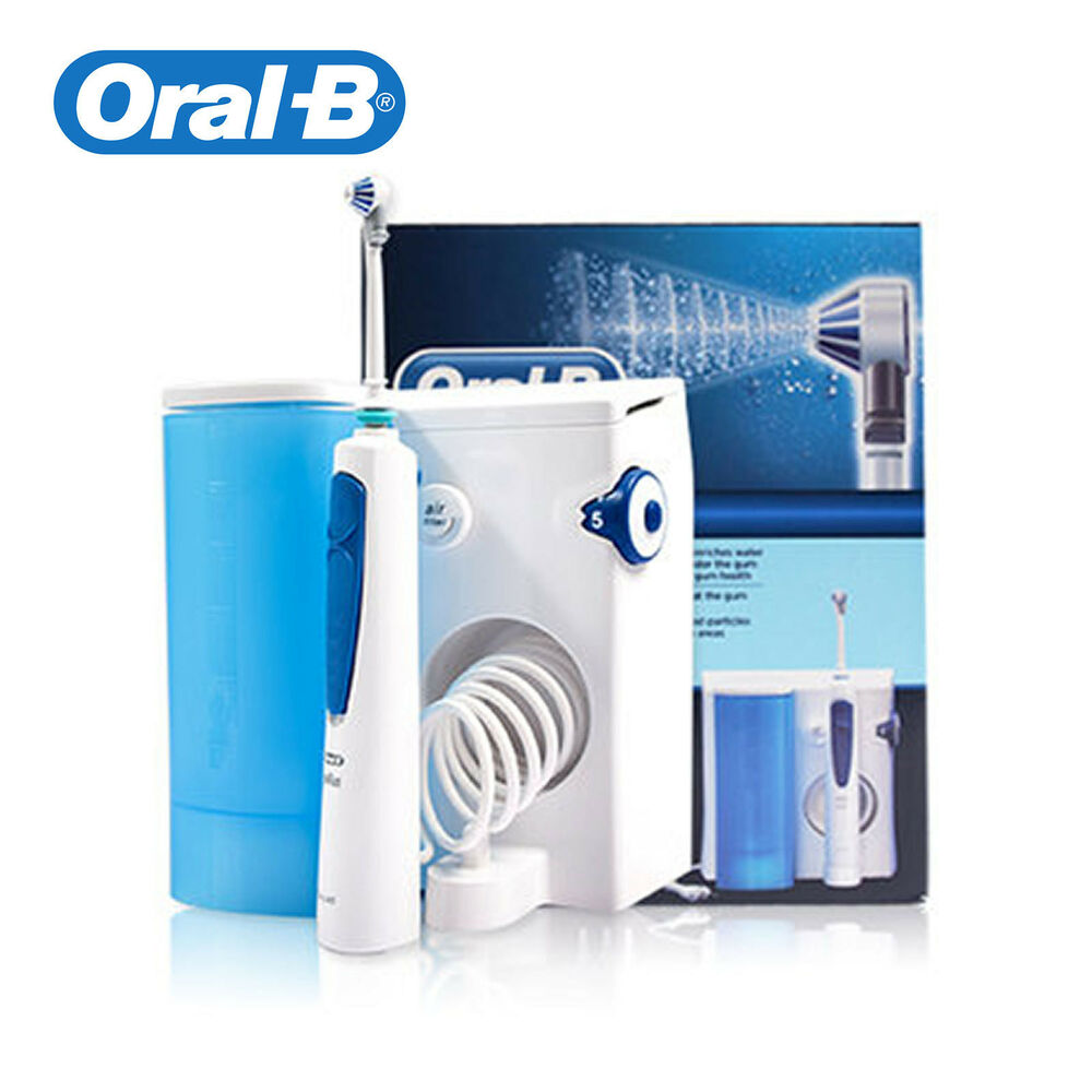 braun oral b professional care 8500 oxyjet md20 flosser irrigator waterjet md 2 ebay. Black Bedroom Furniture Sets. Home Design Ideas