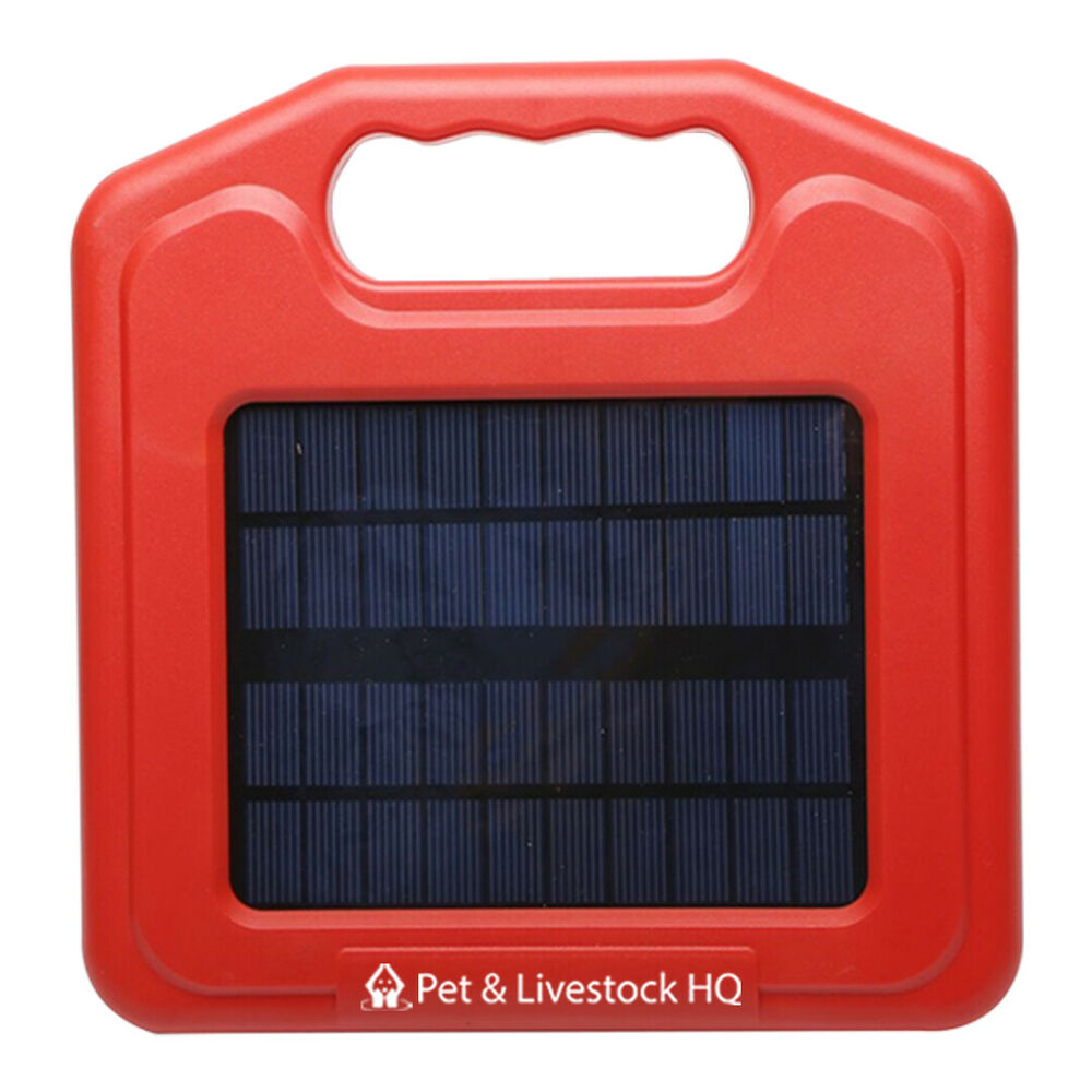 3km Solar Electric Fence Energiser Energizer Charger Power