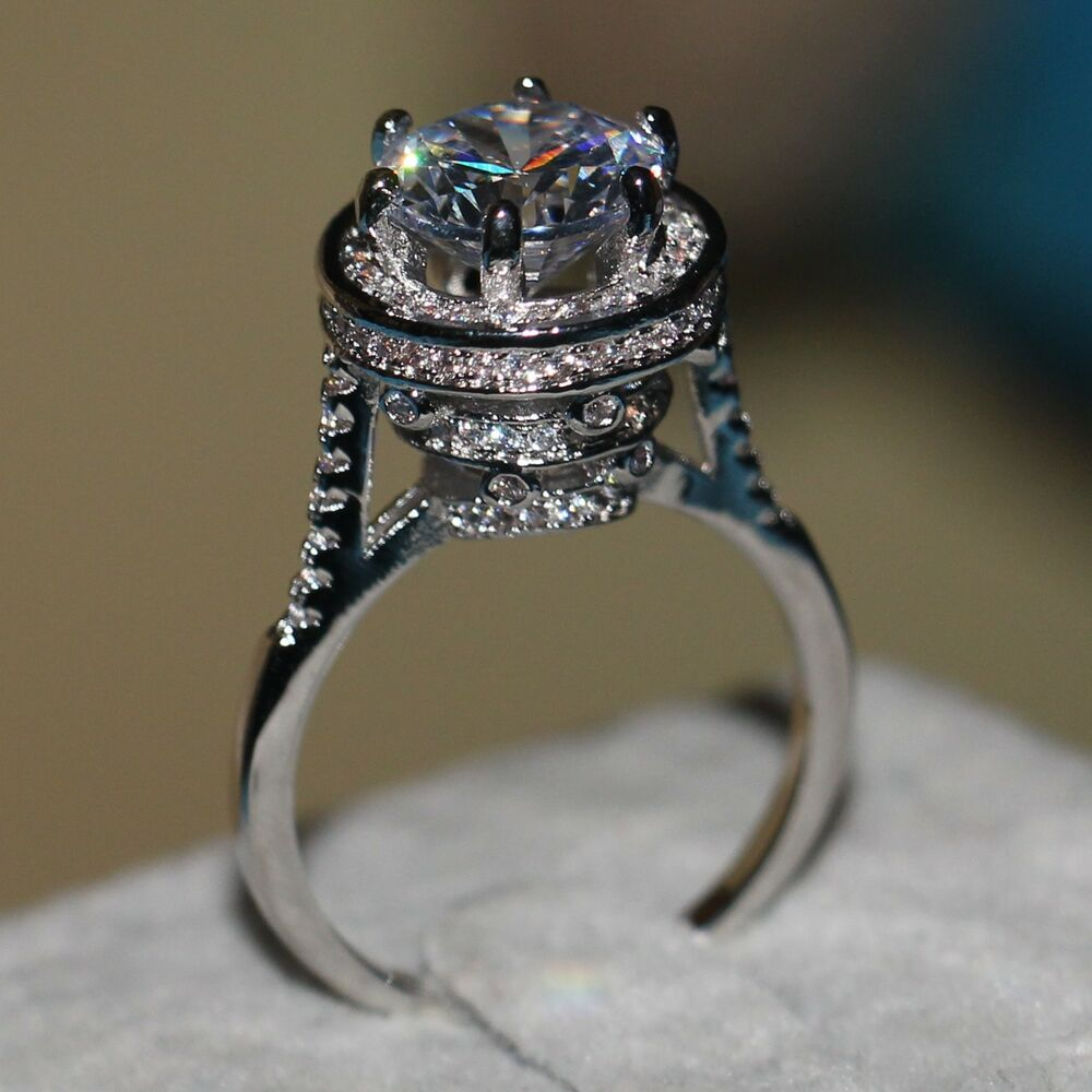Engagement rings - Silver band ring