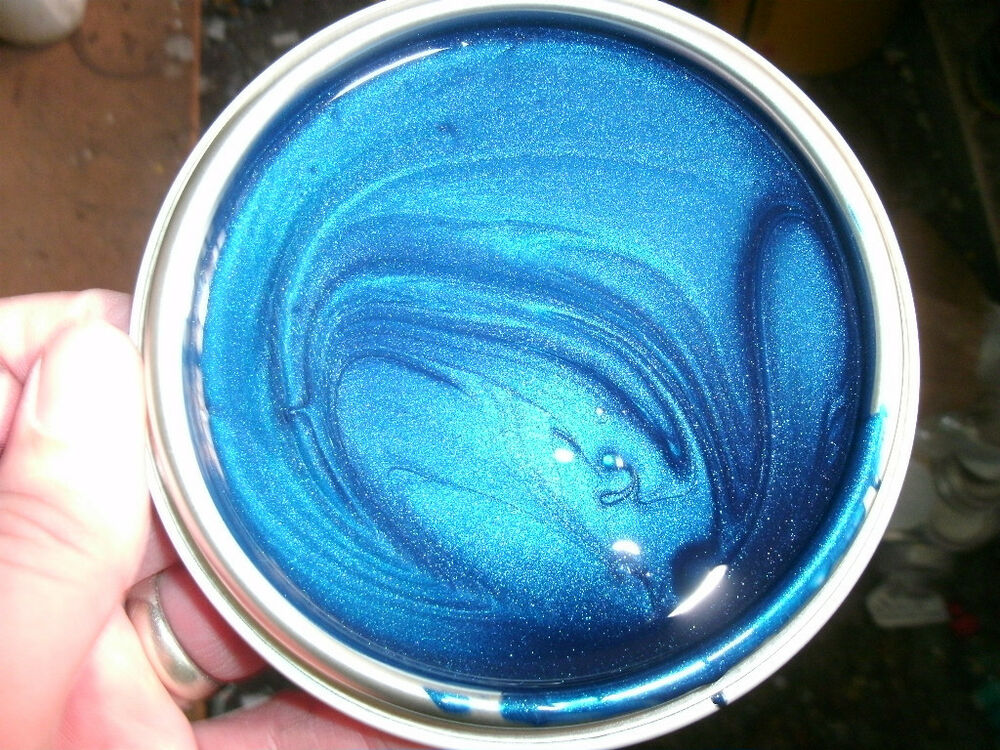 1 Lt Next Generation Aqua Blue Pearl Basecoat Paint Custom Colour Car Paint Ebay