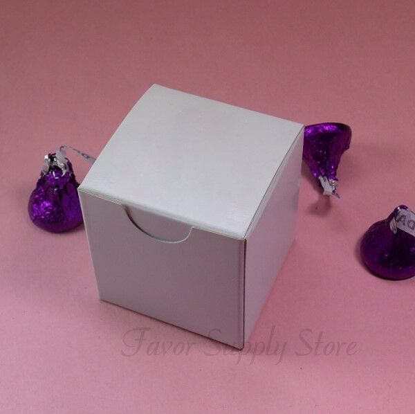 Wedding Gift Boxes Ebay : ... Candy Wedding Party Favor Gift Treat Boxes 2x2x2